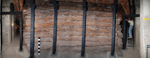 Gordion: the wooden casing within the Midas Mound tumulus