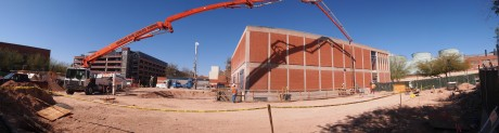 Panoramic view of the construction site: 4