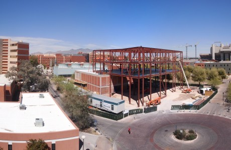 Panoramic view of the construction site: 15