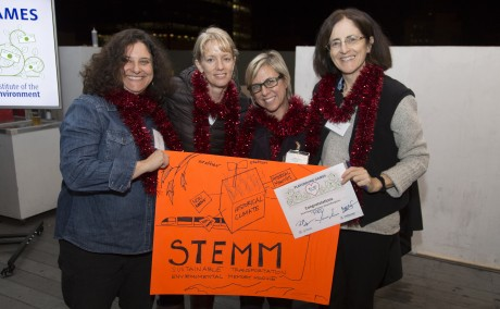 The STEMM team and their grant award