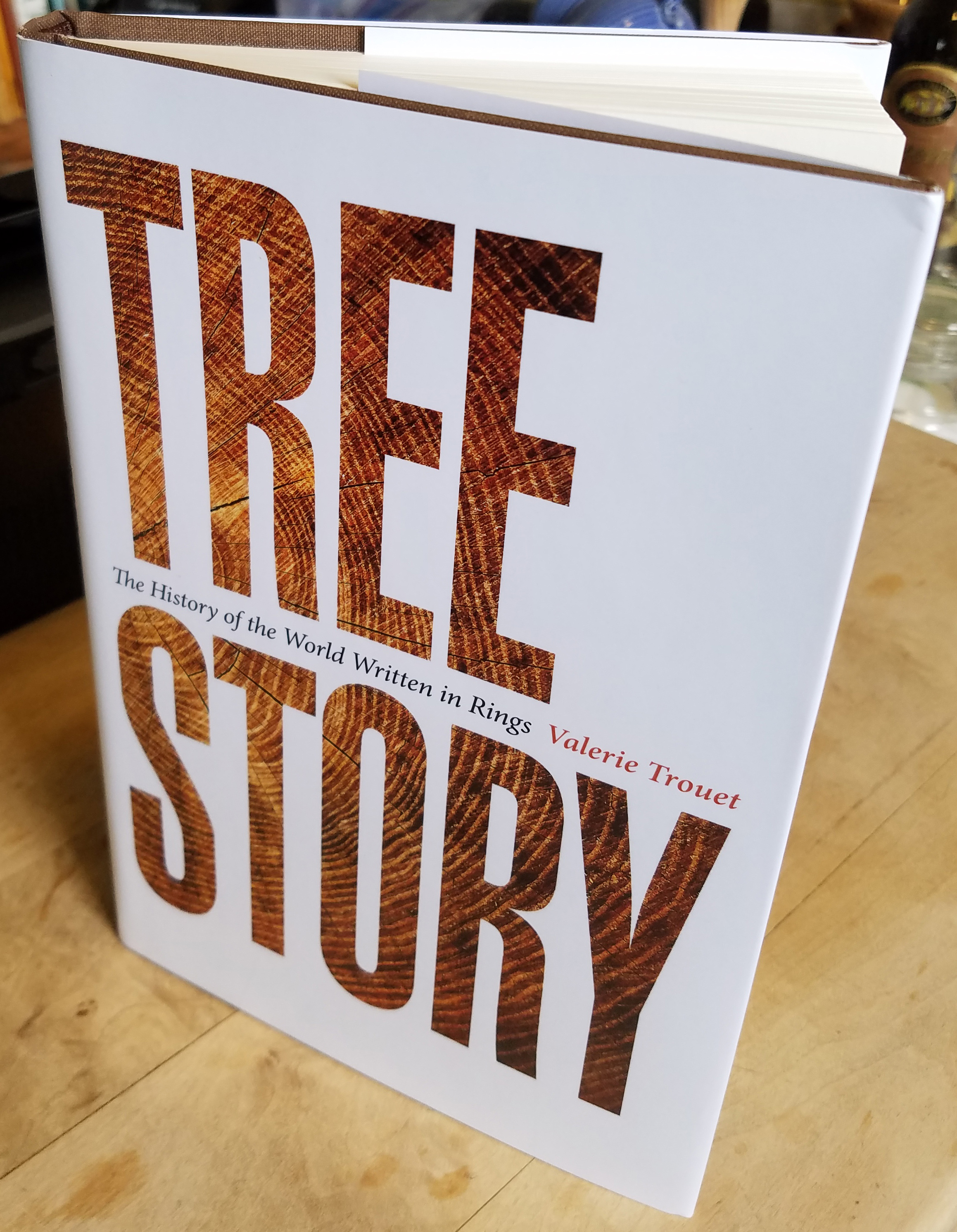 Tree Story by Valerie Trouet (hardback book)